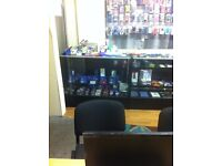 3 x Display Units and mobile phone accessories for sale