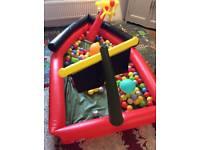Paddling pool boat