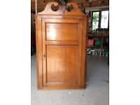 Old corner cupboard