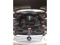 2003 Mercedes c200 kompressor 50634 miles