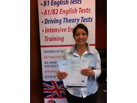 TRINITY A1 A2 B1 English Language Classes (99% pass rate)
