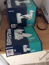 Brand new bath taps and basin filler