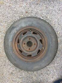 Car Wheel & Eurotour Performance Tyre, 165/85R13 83T