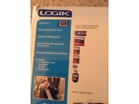 "Logik 8.5"" digital photo frame still in original box and wrapping"