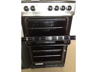 Zanussi Electric Slimline Double Oven Cooker Ceramic Hob