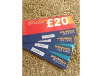 Shearings Holidays gift vouchers