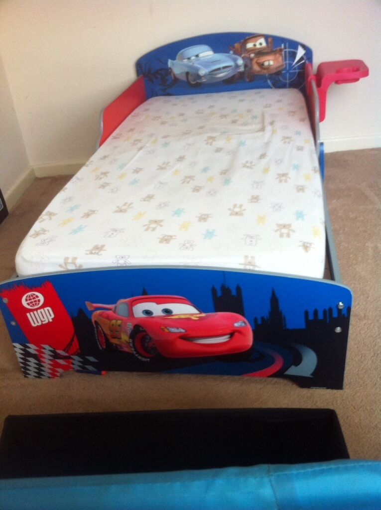 Lightning Mcqueen Toddler Bed Images