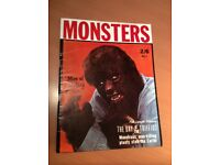 Mad monsters # 1 U.K. Issue original very very rare. Offers invited
