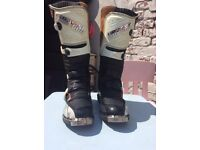No Fear Size 10 motocross boots
