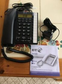 Home Phone - BT Converse 2300, black - brand new