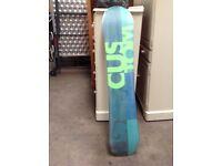 Burton Snowboard 135cm, Burton Bindings, KS2 Snowboarding Boots size 5, Dakine carrier