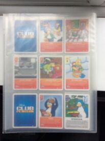 Club penguin collect able cards