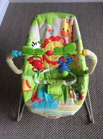 Fisher-Price Rainforest Friends Bouncer as new