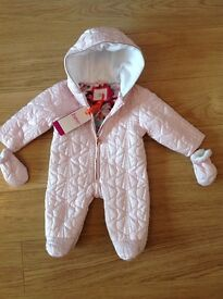 Ted Baker Baby girl snow suit brand new with tags size 0-3 months