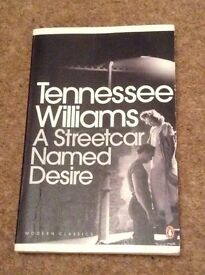 A Streetcar Named Desire by Tennessee Williams book