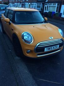 2015 Mini One, ALL OFFERS CONSIDERED, Cheap to run, 1 owner, no service history yet
