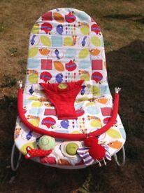 Mamas and papas vibrating baby chair