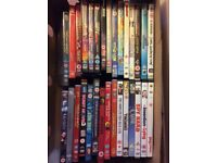 Mixed box of 30 dvds