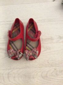 Red Vivienne Westwood shoes