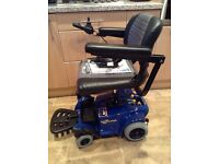 PRIDE GO CHAIR BRAND NEW NEVER USED ELECTRIC WHEELCHAIR COST £1100