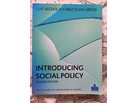 Early childhood studies BOOK - Introducing social policy