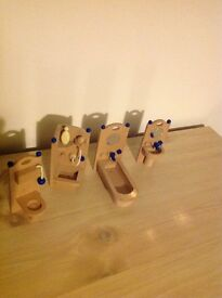Wooden dolls house furniture (bathroom)