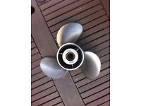 Stainless Steel Boat Propeller (Outboard)