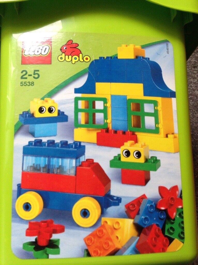 Bucket Of Duplo Lego Base Board In Bromley London Gumtree