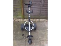 Motocaddy Electric Golf Trolley + Battery