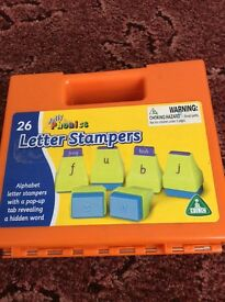 Jolly phonics lower case stamps