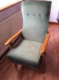 Courts high back armchair
