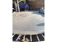 Large Trampoline. Padding is weathered , collect chingford hatch E46HS