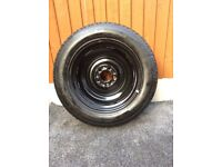 Nissan Juke New Spare Wheel and New Tyre