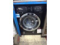 Blomberg black 8kg 1400spin washing machine. New/graded 12 month Gtee