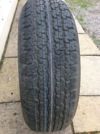 Bridgestone Dueler 265/70 R16 only been a spare never run on road