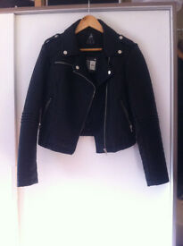 Primark Atmosphere fake leather jacket - AS NEW