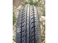 Landrover road tyre