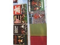 George Best and Manchester United football annuals from the 1960s