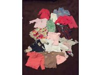 Baby girls clothes 3-6 months.