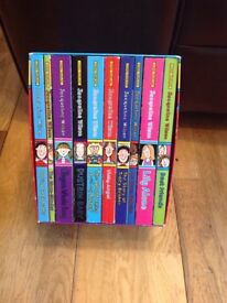 Jacqueline Wilson 10 book set - read but in good condition