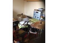 Fun and friendly drum tuition, £10 per hour