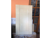 brand new maple effect fitted kitchen cupboard doors and drawers