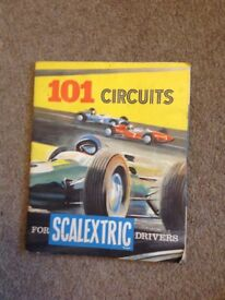 Vintage 101 Circuits for Scalextric booklet