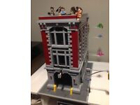 Lego 75827 Ghostbusters Firehouse Headquarters COMPLETE