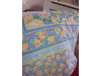 DOUBLE DUVET COVER + pillowcases. MandS - as new.