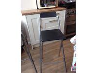 2 bar style stools