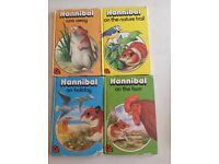 4 Hannibal children's books
