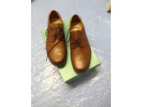 Gents Clarks brown shoes
