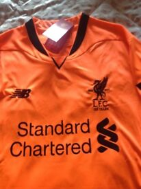 Liverpool 3rd kit brand New Jersey ( small mans )with labels