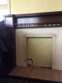 Solid Wooden Fire Surround